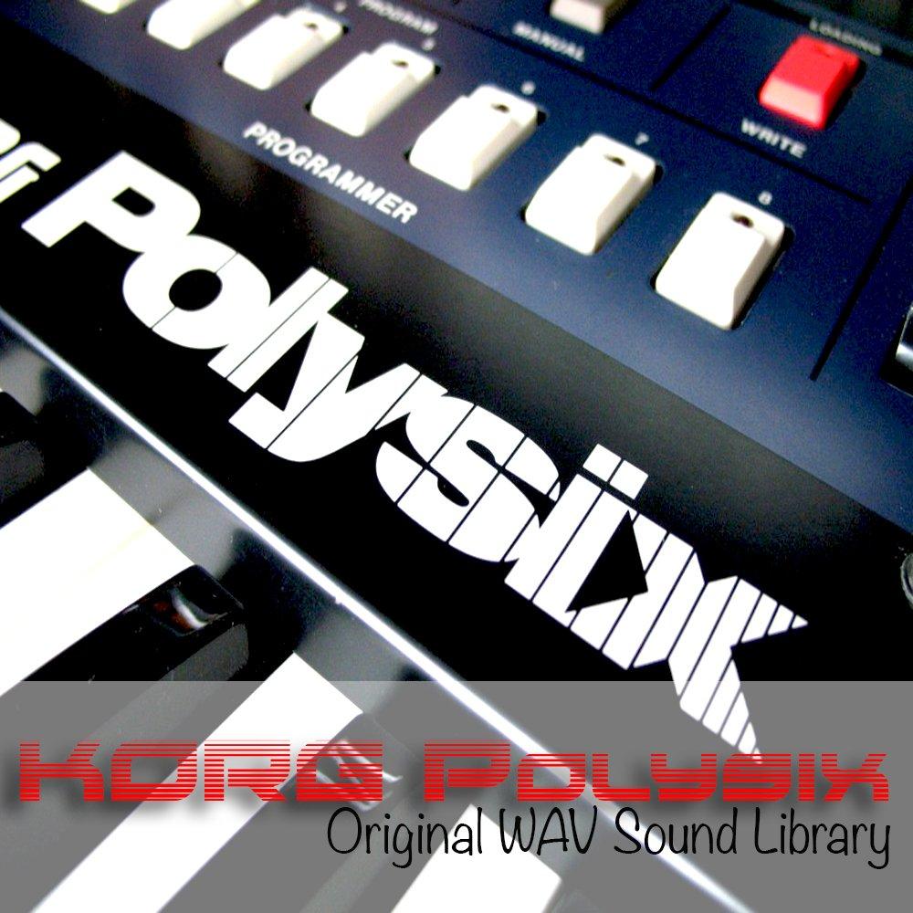 KORG POLYSIX - HUGE Original Sound Library Samples in WAVE/KONTAKT format on DVD or for download