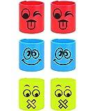 12 x Emoji/Smiley Face Springs - Party Bag Fillers