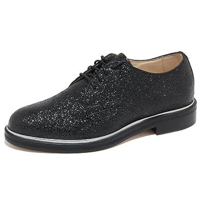 6237n Shoes Allacciate Nero Donna Women Choo Scarpe Jimmy ZZqYgn7r
