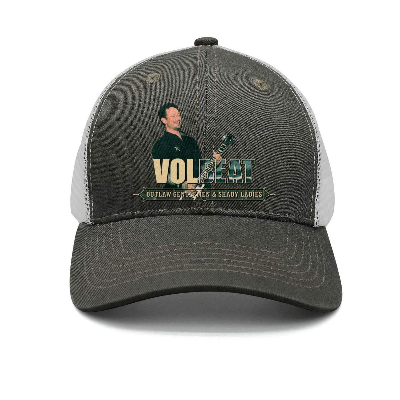Snapback hat Trucker Hats Baseball Caps JesseKeats Man Volbeat-Outlaw-Gentlemen-Shady-Ladies