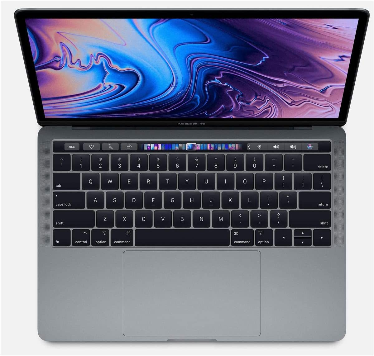 """Apple 13.3"""" MacBook Pro with Touch Bar, 2.3GHz Quad-Core Intel Core i5, 16GB RAM, 1TB SSD, Iris Plus 655 - Space Gray (Mid 2018)"""