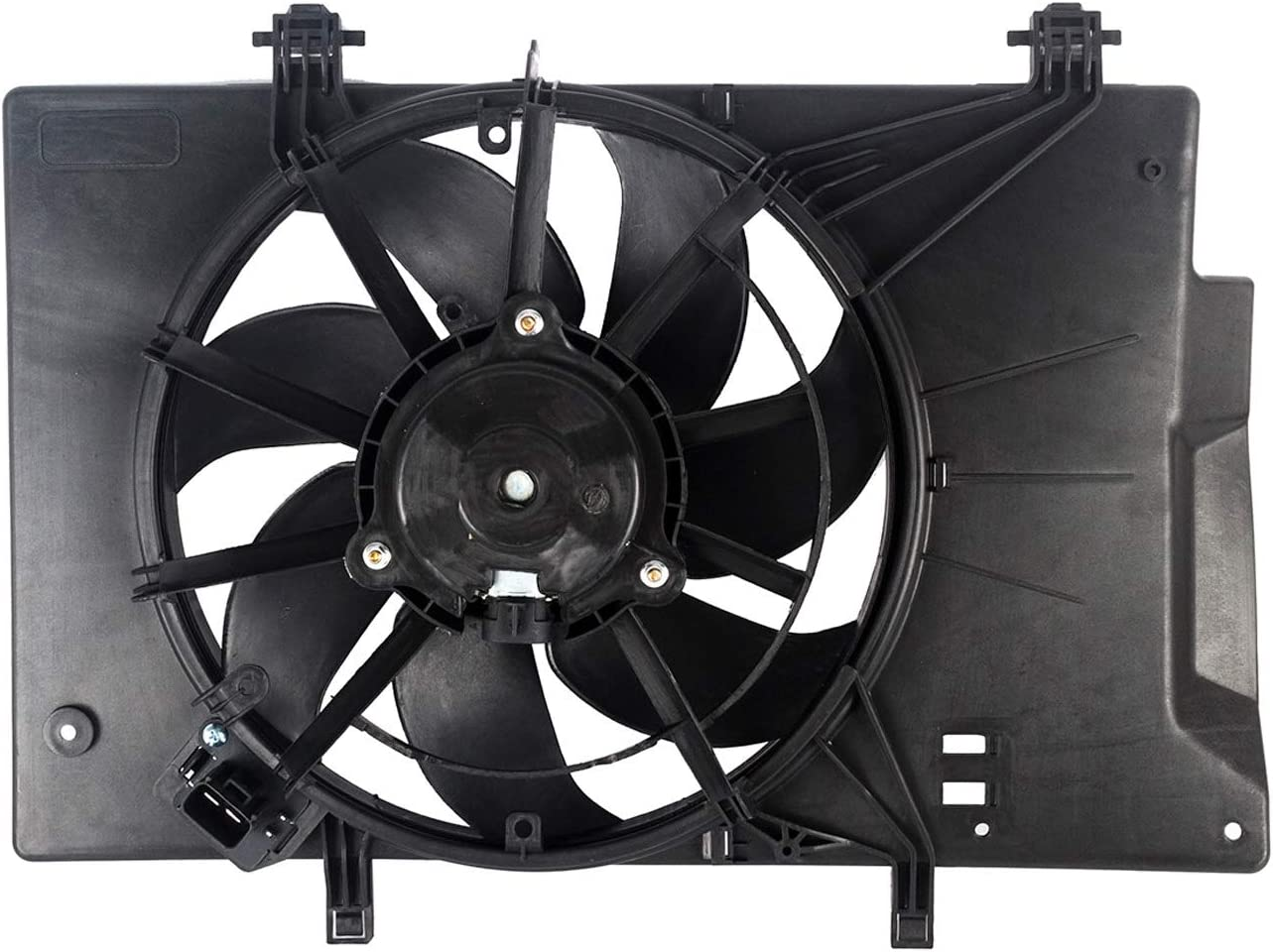 KARPAL Engine Cooling Fan Assembly BE8Z8C607A Compatible With 2011-2018 Ford Fiesta