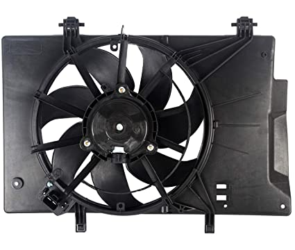 Radiator Fan Assembly for Ford Fiesta 11-16 1.6L Eng w//A//C