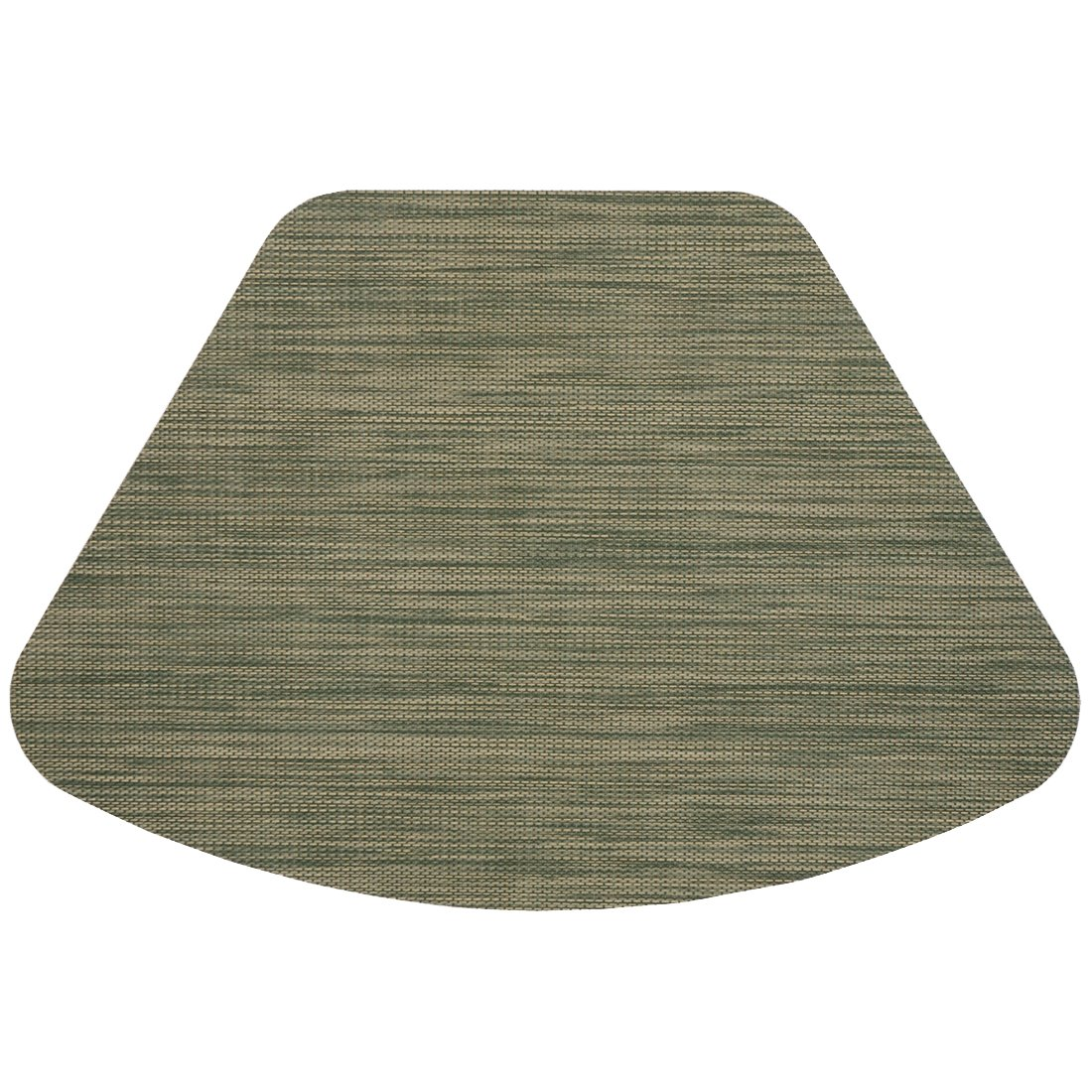 Tan Wipe Clean Wedgeshaped Placemats For Round  Tables: Home & Kitchen