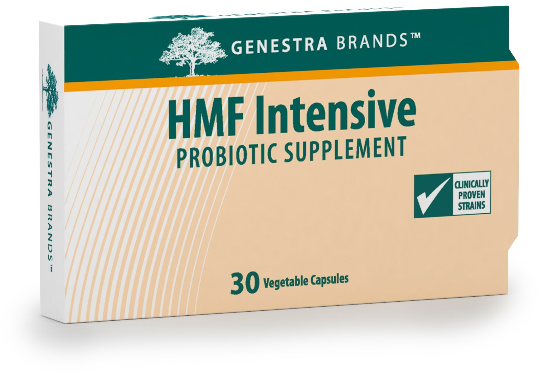 Genestra Brands - HMF Intensive - Four Strains of Probiotics to Promote GI Health* - 30 Capsules