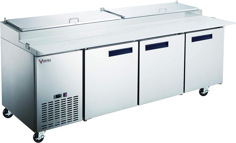 Vortex Refrigeration - Mesa de preparación para pizza de grado ...