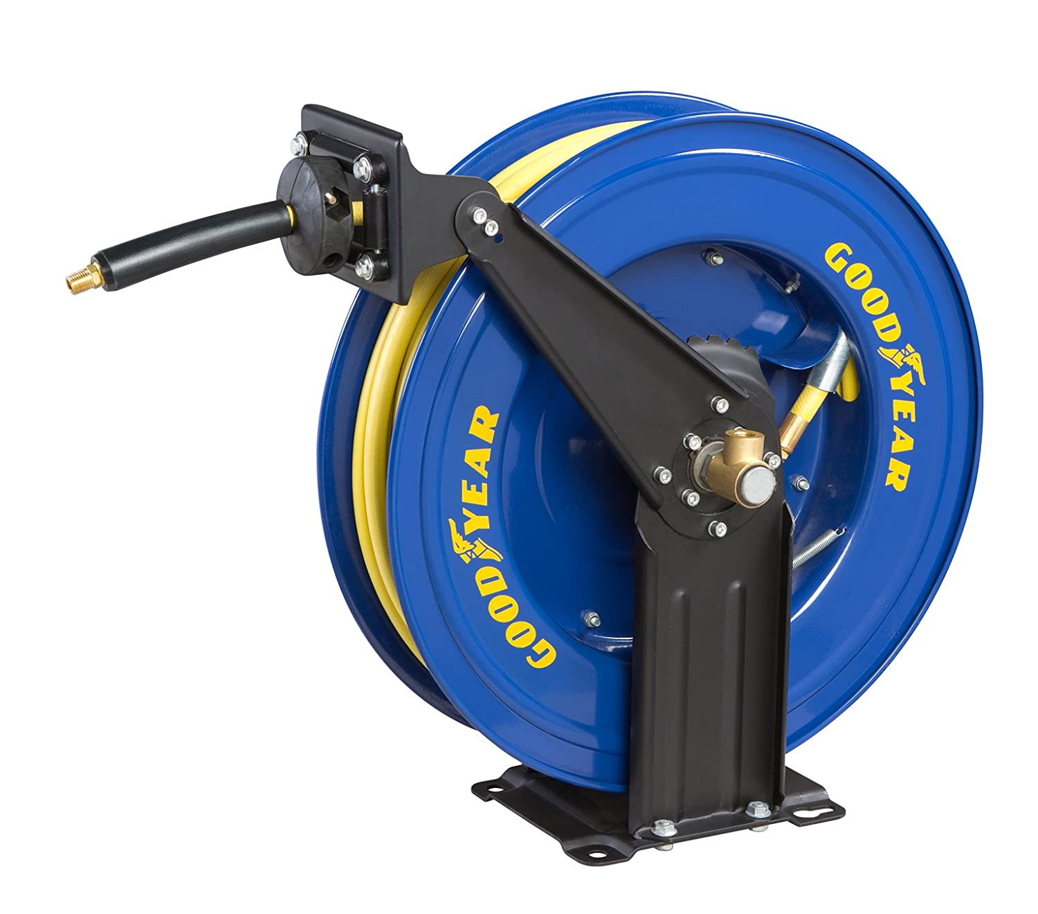 GOODYEAR 46731 3/8-Inch by 50-Feet Retractable Air Hose Reel [Discontinued] - Air Tool Hose Reels - Amazon.com  sc 1 st  Amazon.com & GOODYEAR 46731 3/8-Inch by 50-Feet Retractable Air Hose Reel ...