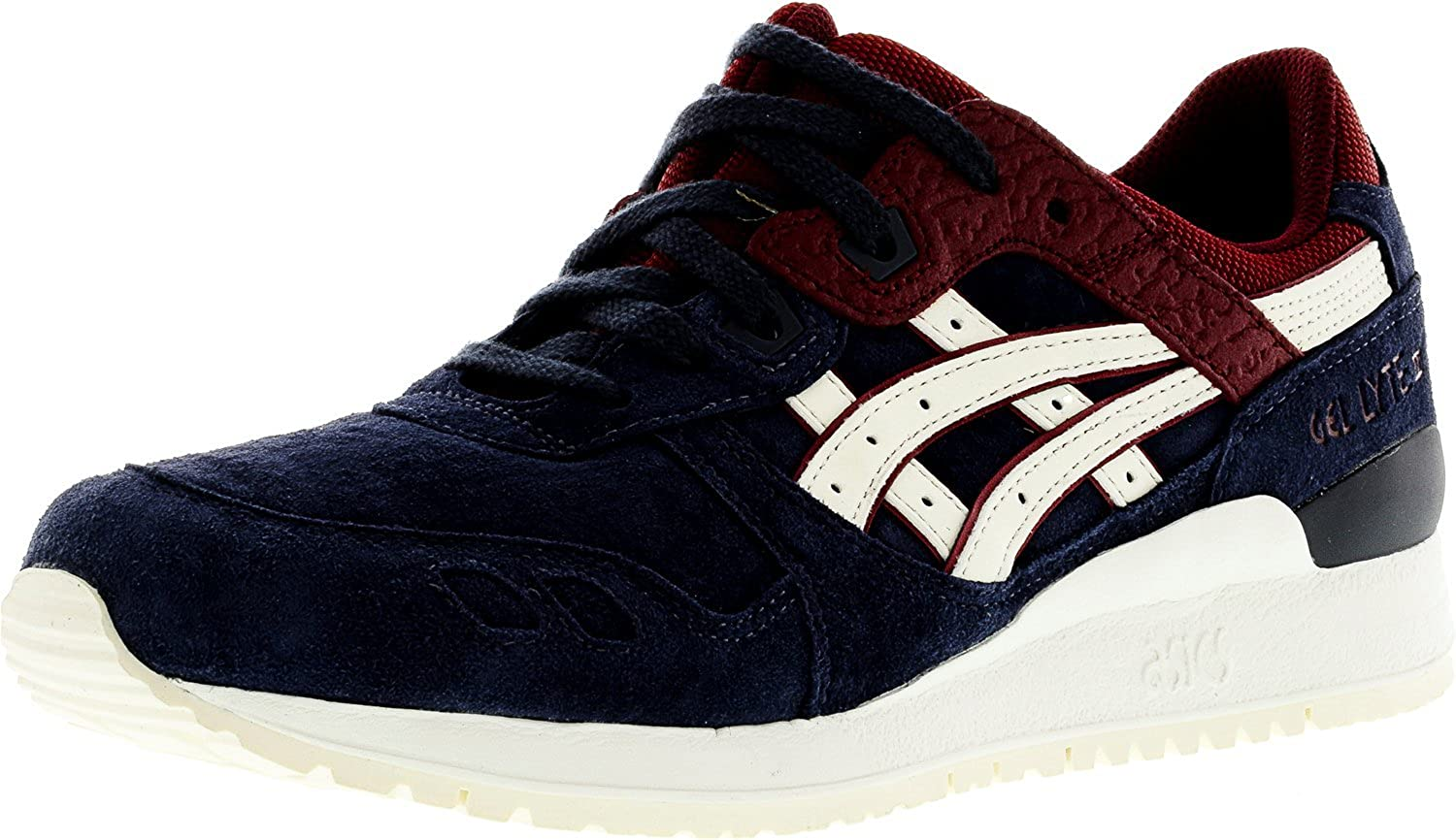 sports shoes 4f240 6f56a Onitsuka Tiger by Asics Unisex Gel-Lyte III? India Ink/Slight White Sneaker  Men's 11 Medium