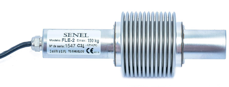 Capteur de pesage FLE2 150 (0 à 150 kg) Acier inoxydable IP68 micro soudure laser Senel Technologies S.A.