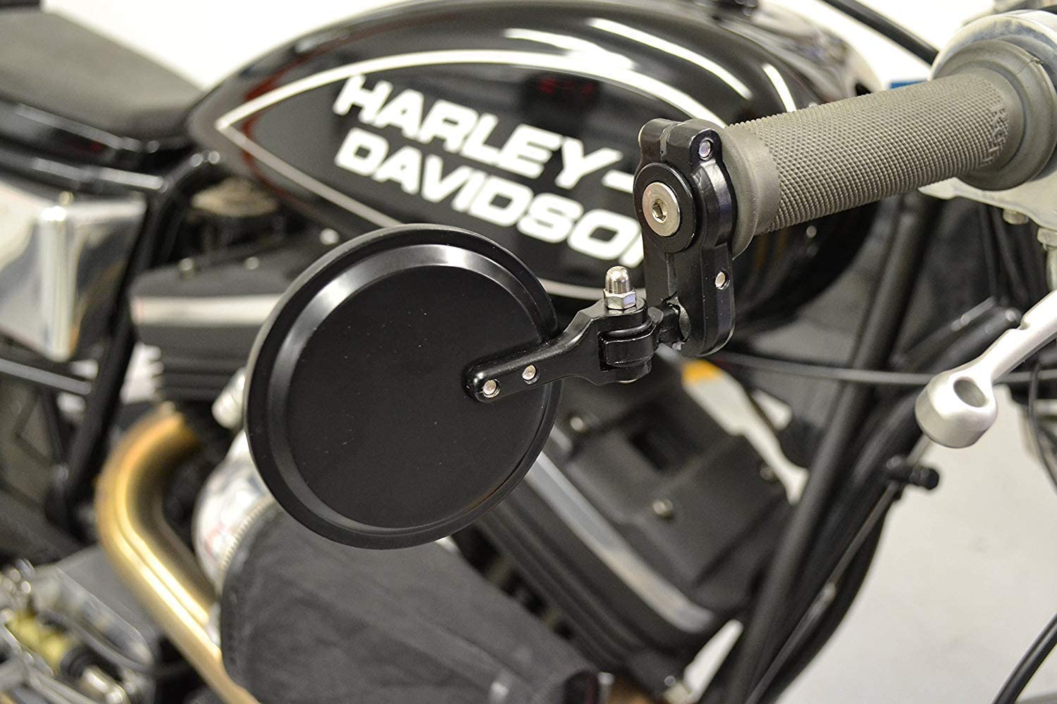 Bar End Mirrors for Ducati Streetfighter /& Cafe Racer Carbon Effect Alloy PAIR