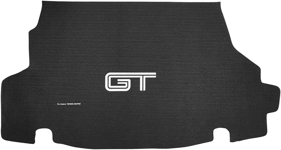 2005-2014 Ford Mustang Gt Convertible Model TM213705C Fender Gripper Trunk Mat with Ford Gt Logo Officially Licensed by Ford Motor Company