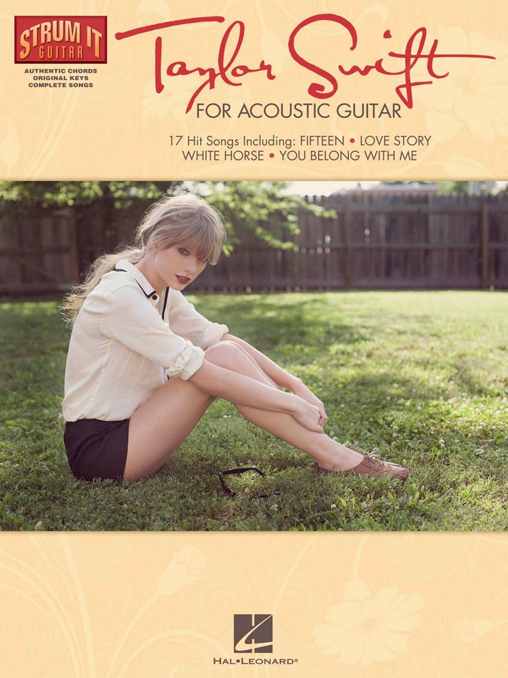 Amazon Hal Leonard Taylor Swift For Acoustic Guitar Strum It
