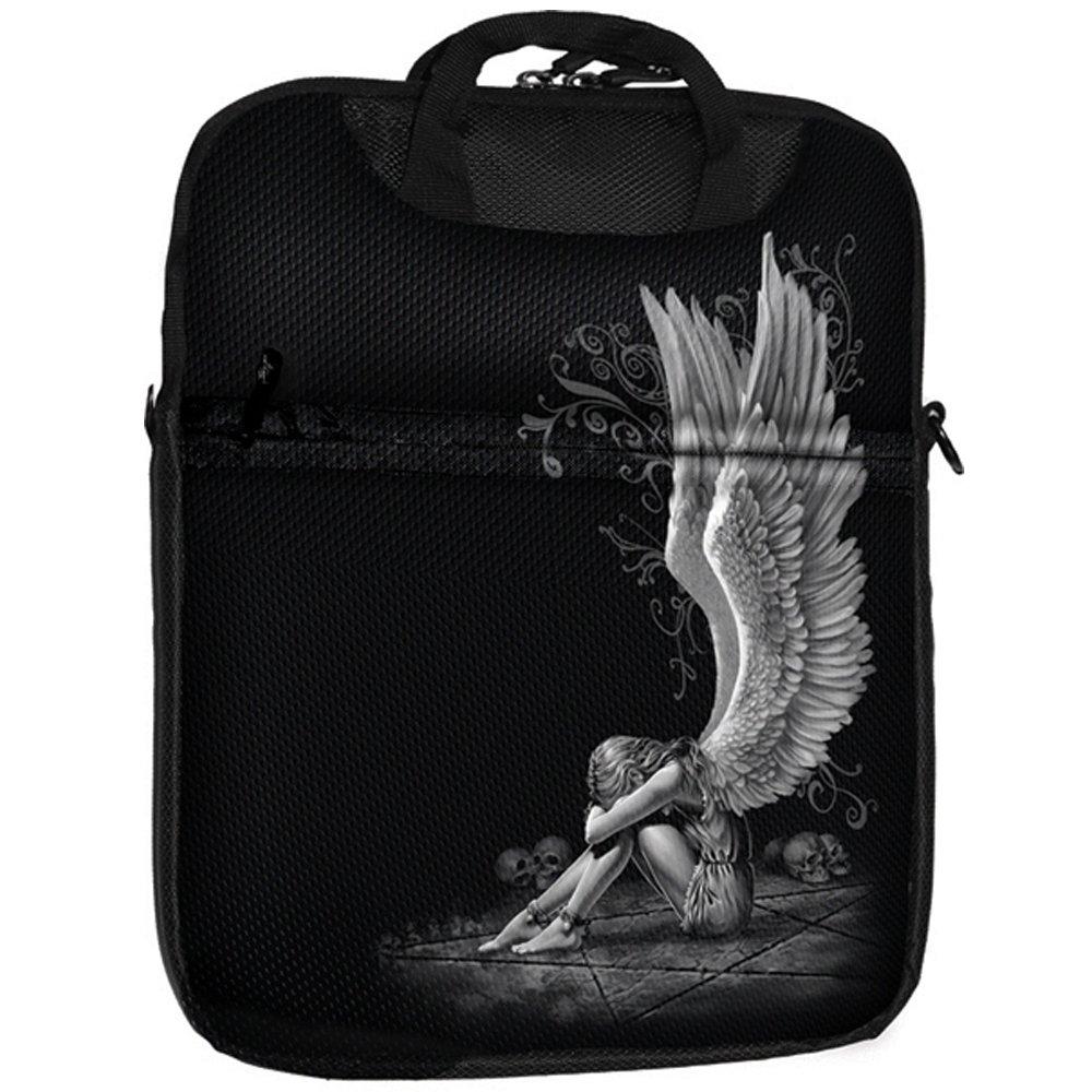 Spiral Tablet Schultertasche - Enslaved Angel Gothic Tablet Shoulder Bag