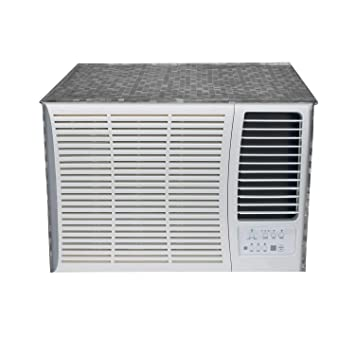Kuber Industries PVC 1 Pieces Window AC Cover for 2 Ton Capacity (Grey) Amazon.com:
