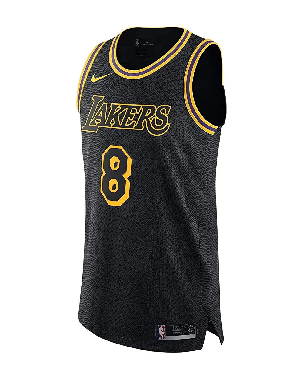 promo code b7335 70f03 Amazon.com: Nike Men Black Mamba Los Angeles Lakers Kobe ...