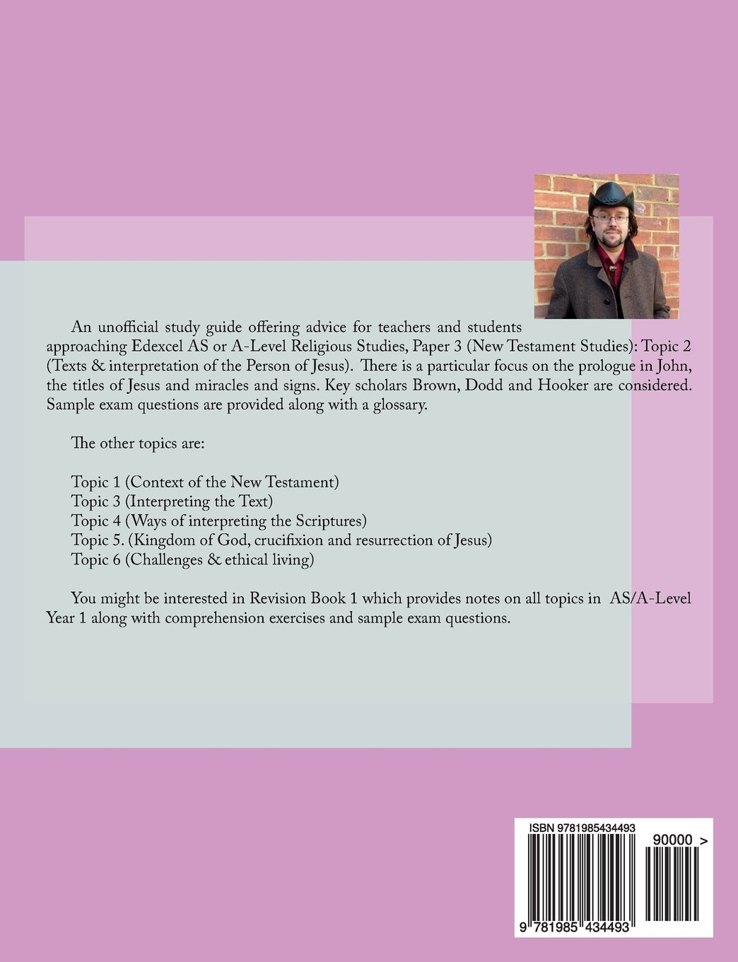 The Person of Jesus: Study Guide for Edexcel A/AS Level