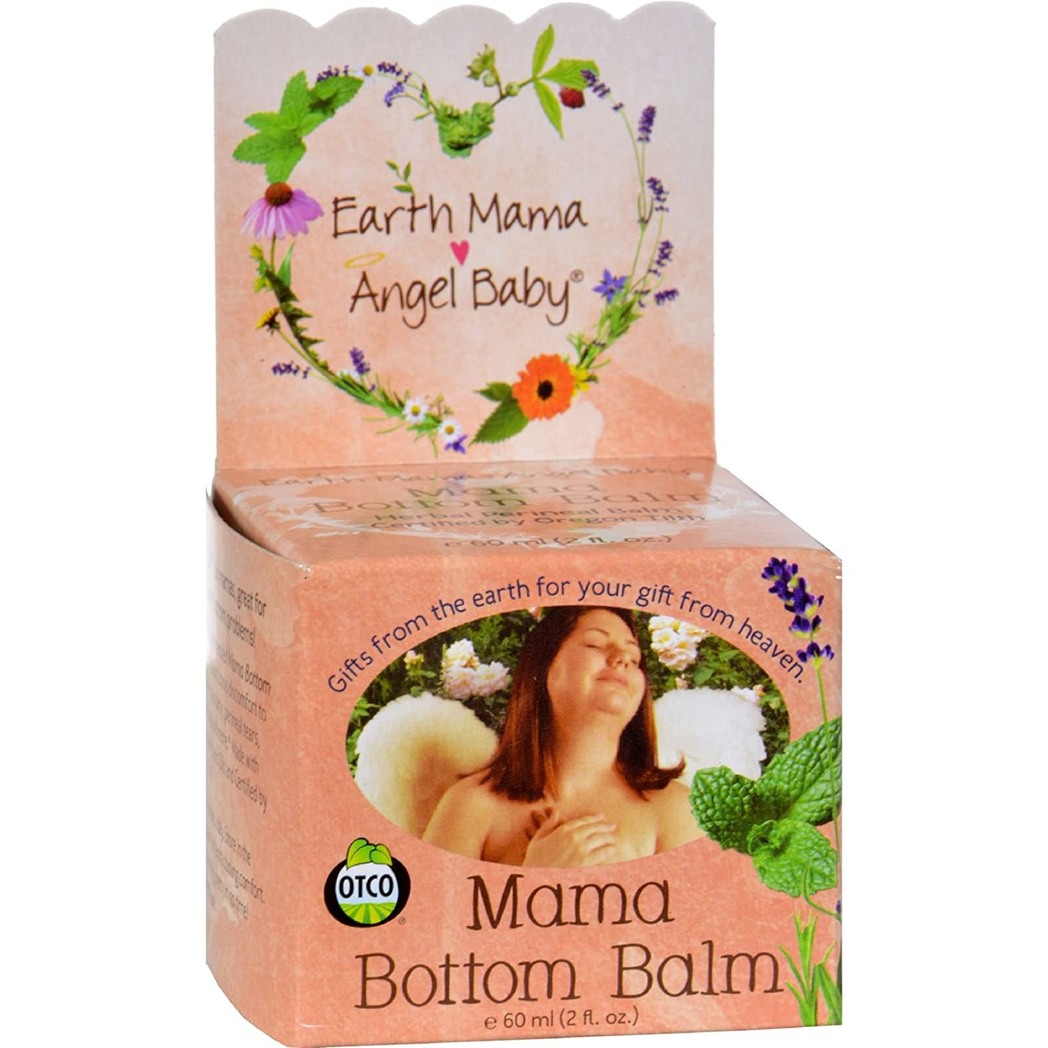 Earth Mama Angel Baby Mama Bottom Balm (2FL oz.)