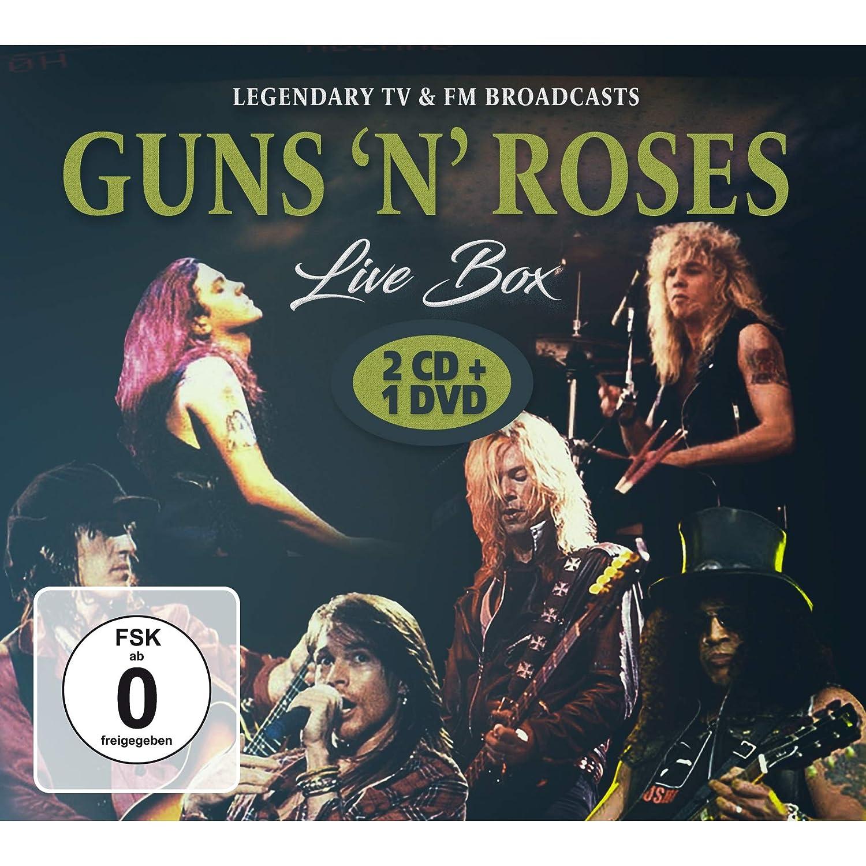 Live box: Guns n roses: Amazon.es: Música