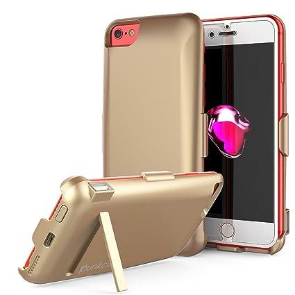 Amazon.com: iPhone Funda Caso, punkjuice 5000 mAh Cargador ...