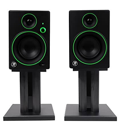 Amazon Com Pair Mackie Cr4bt 4 Studio Monitors Computer Speakers W