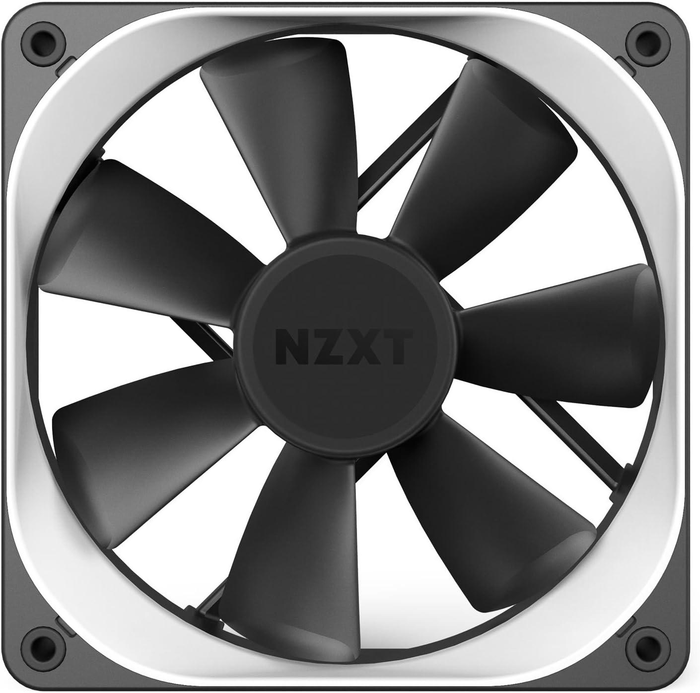 Nzxt - Embellecedor Trims para Ventilador de 120mm (RF-ACT12-W1), Color Blanco