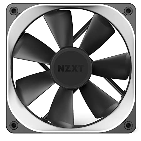 NZXT - Embellecedor Trims para ventilador de 140mm (RF-ACT14-W1), color blanco: Amazon.es: Informática
