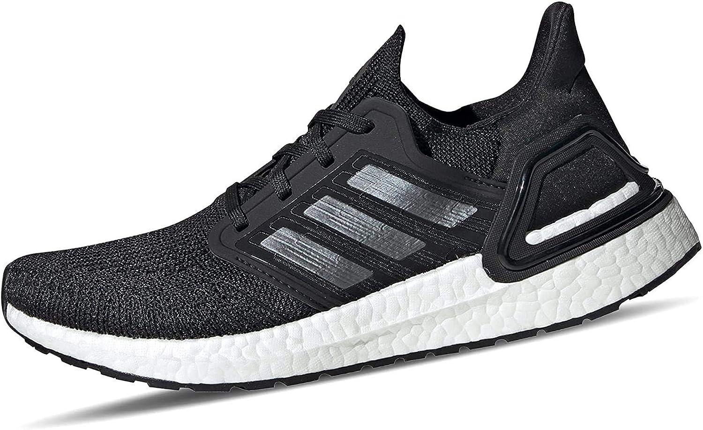 adidas Ultraboost 20 W, Zapatillas Running Mujer Negro Core Black Night Met Ftwr White