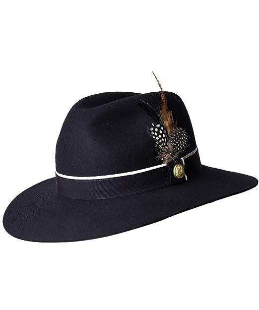 Holland Cooper Mujeres Grayson Sombrero Hat con Detalle de Plumas M Marina  De Guerra  Amazon.es  Ropa y accesorios 50880089164