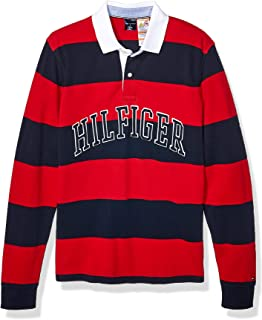 Tommy Hilfiger Mens Custom Fit Long Sleeve Buttondown Shirt