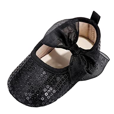 WARMSHOP Love Baby Hollow Out Bowknot First Walker Soft Anti-Slip Casual Shoes