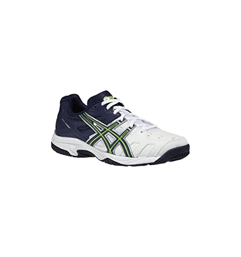 Asics - Zapatillas para Deportes de Interior para niño Blanco Blanco 39.5: Amazon.es: Zapatos y complementos
