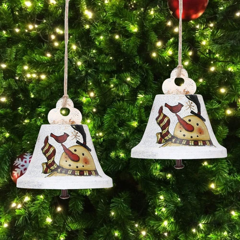 1# AUNMAS Campana Colgante Decoraci/ón Fiesta en casa Feliz Navidad /Árbol Puerta Navidad Ornamento Decorativo para Jard/ín Tienda Oficina Hotel Restaurante Bar