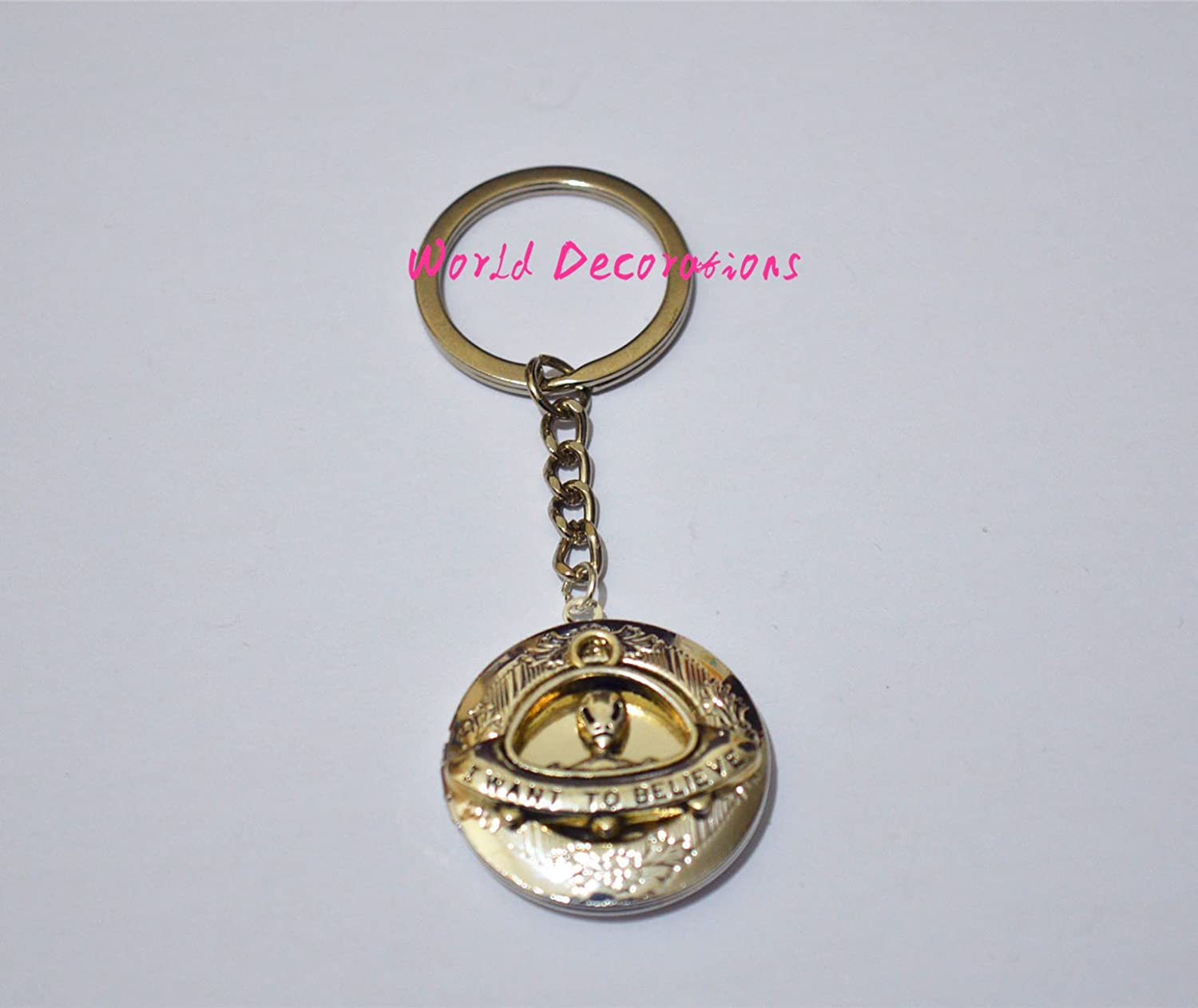Alien Locket llavero, extranjero Locket llavero, regalo ...