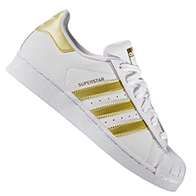 Adidas Originals Baskets Superstar Foundation J Blanc