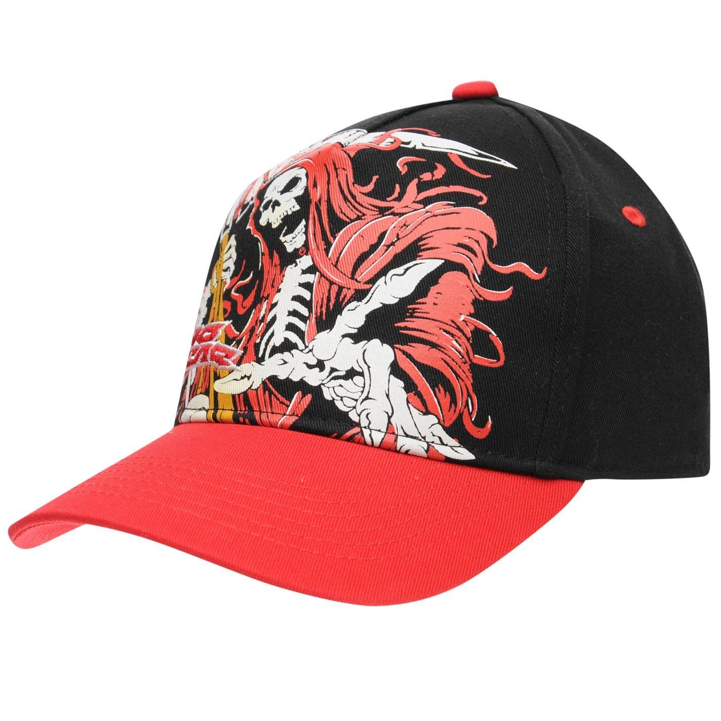 No Fear Kids Baseball Cap Black Red Junior  Amazon.co.uk  Clothing 526d52fcb0b