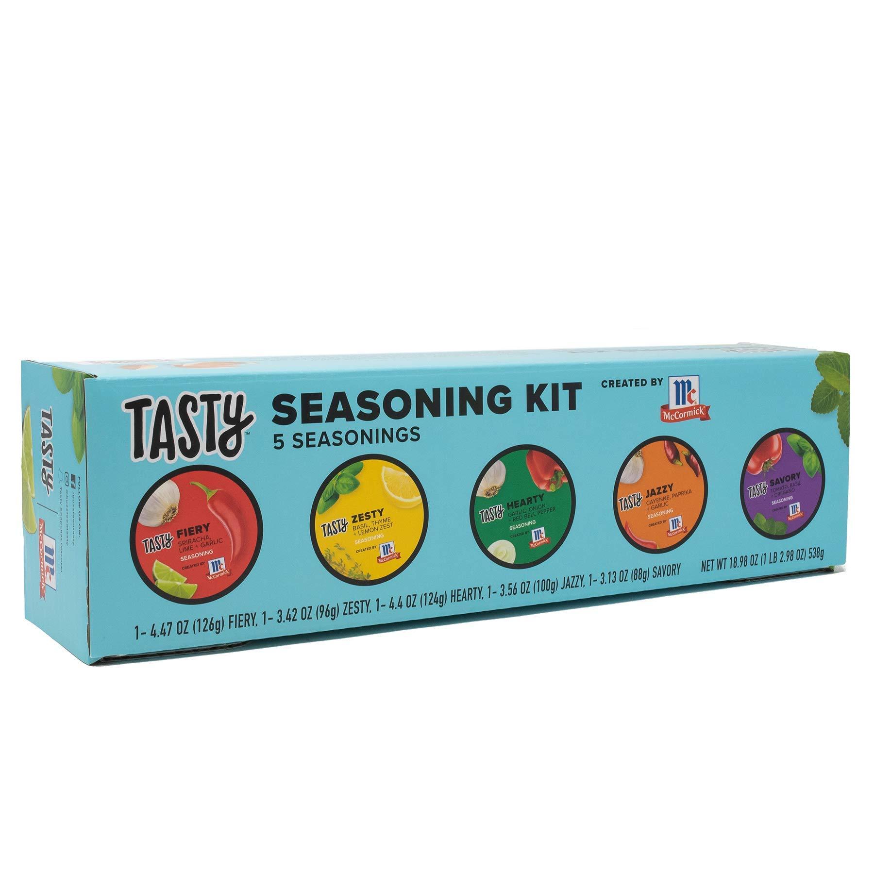 Tasty Seasoning Kit Created by McCormick (5 Seasoning Blends), 18.98 oz