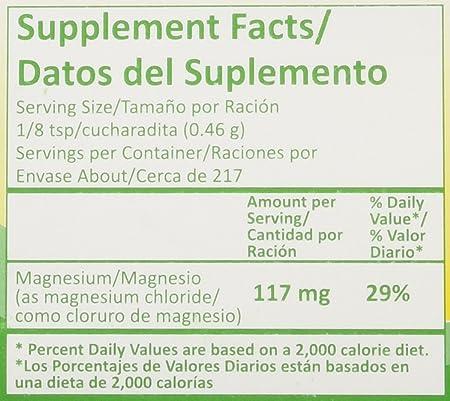 Cloruro De Magnesio / Magnesium Cloride Miracle Salt