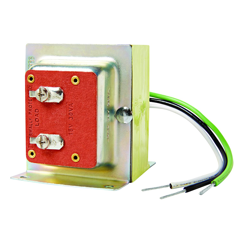 Nutone C907 16v 30va Transformer Doorbell Transformers Wiring Multiple In Series