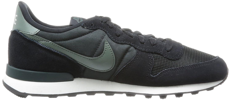 new concept d13e0 8035b Nike Mens Internationalist Trainers Black Schwarz (Black Dark Mica Green-Sl-Anthracite)  Size  41  Amazon.co.uk  Shoes   Bags
