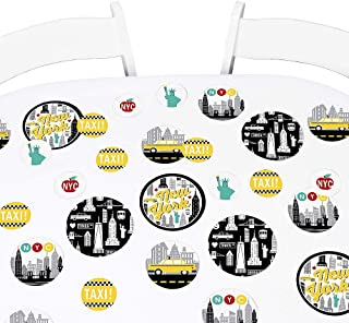 product image for Big Dot of Happiness NYC Cityscape - New York City Party Giant Circle Confetti - Party Decorations - Large Confetti 27 Count