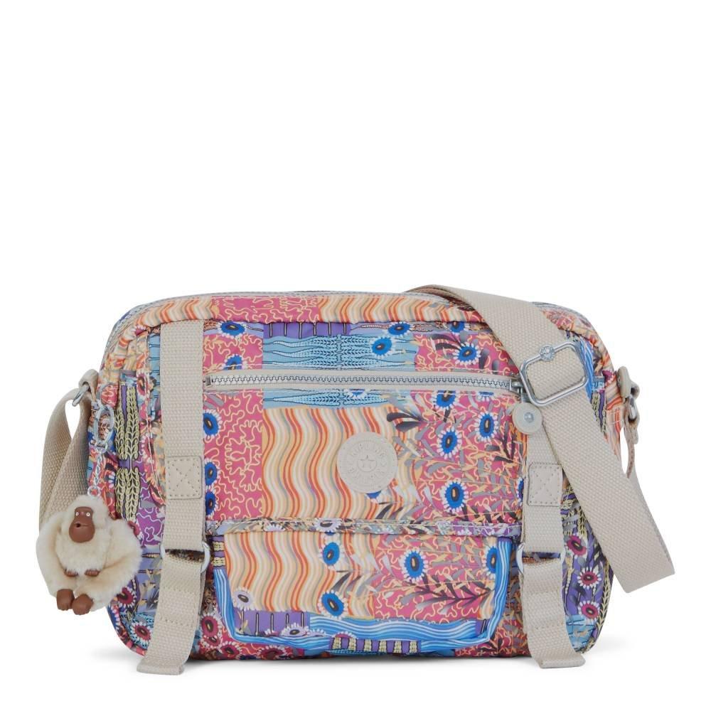 Kipling Women's Gracy Crossbody Bag One Size Whimsical Patchwork