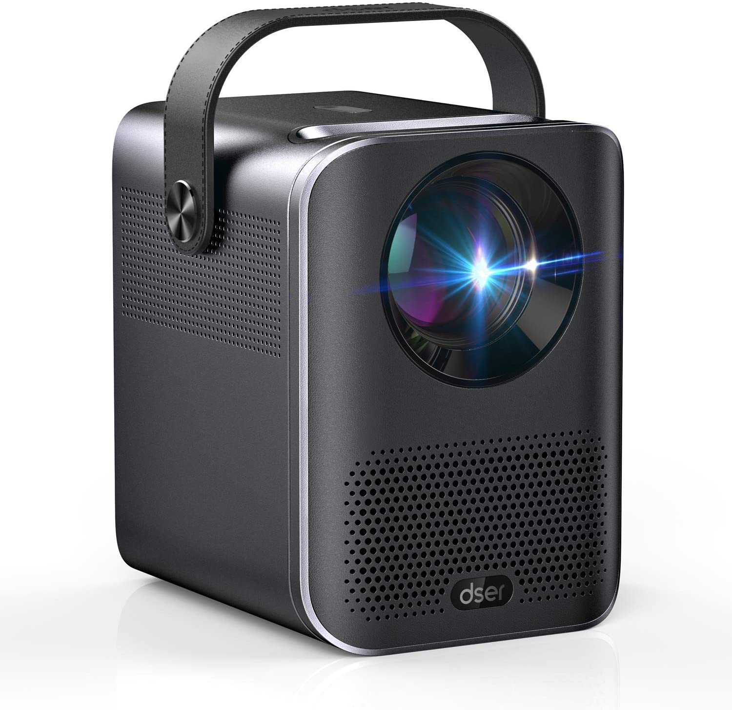 """Video Projector, 1080P and 160"""" Display Supported, Dser Portable Mini Projector with 60,000Hrs LED, 150ANSI 4000 Lumen Home Theater Movie Projector Compatible with Fire TV, Laptops, PC, PS4, HDMI, USB: Electronics"""