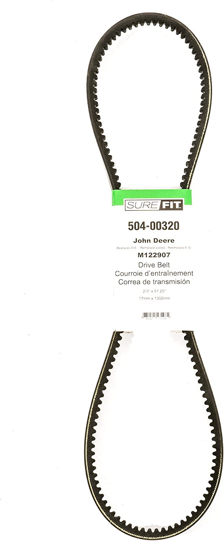 John Deere M122907 Replacement 2//3 x 51.25 Drive Belt