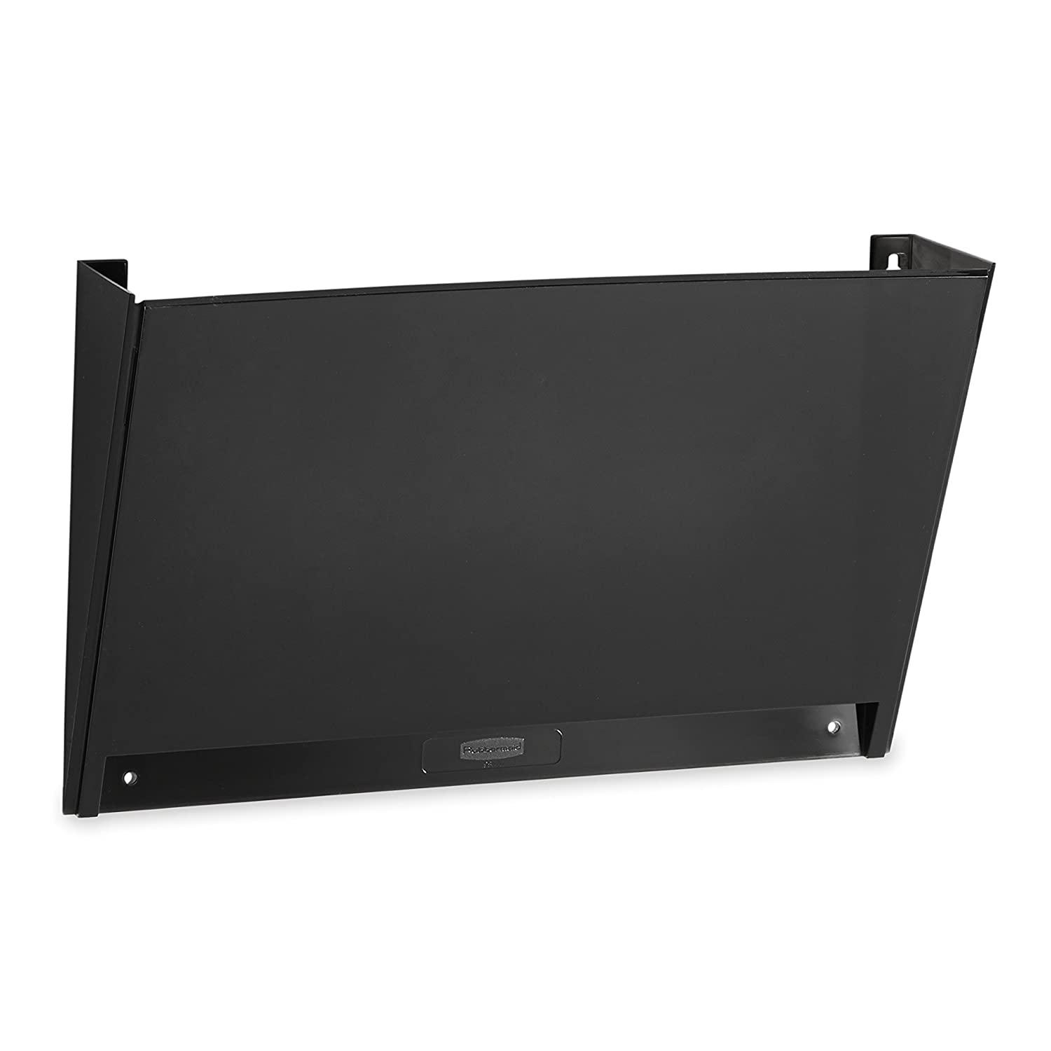 Rubbermaid Classic Hot File Basic Wall File Pocket, Black (L16623)