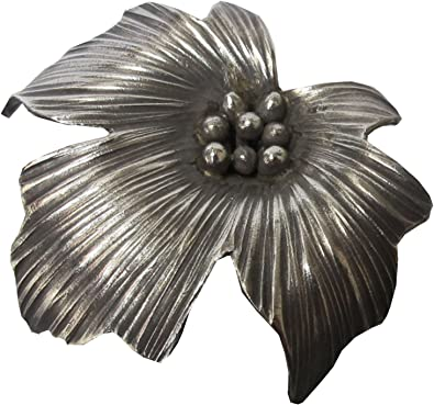 Welcome For Free Shipping!!.WEIGHT 9.19 G PURE 99.5/% NICE CLASSIC GENUINE THAI KAREN HILL TRIBE SILVER FLOWER PENDANT SIZE 35 x 35 MM.{ KAREAN PENDANT BOX/_2-108 }