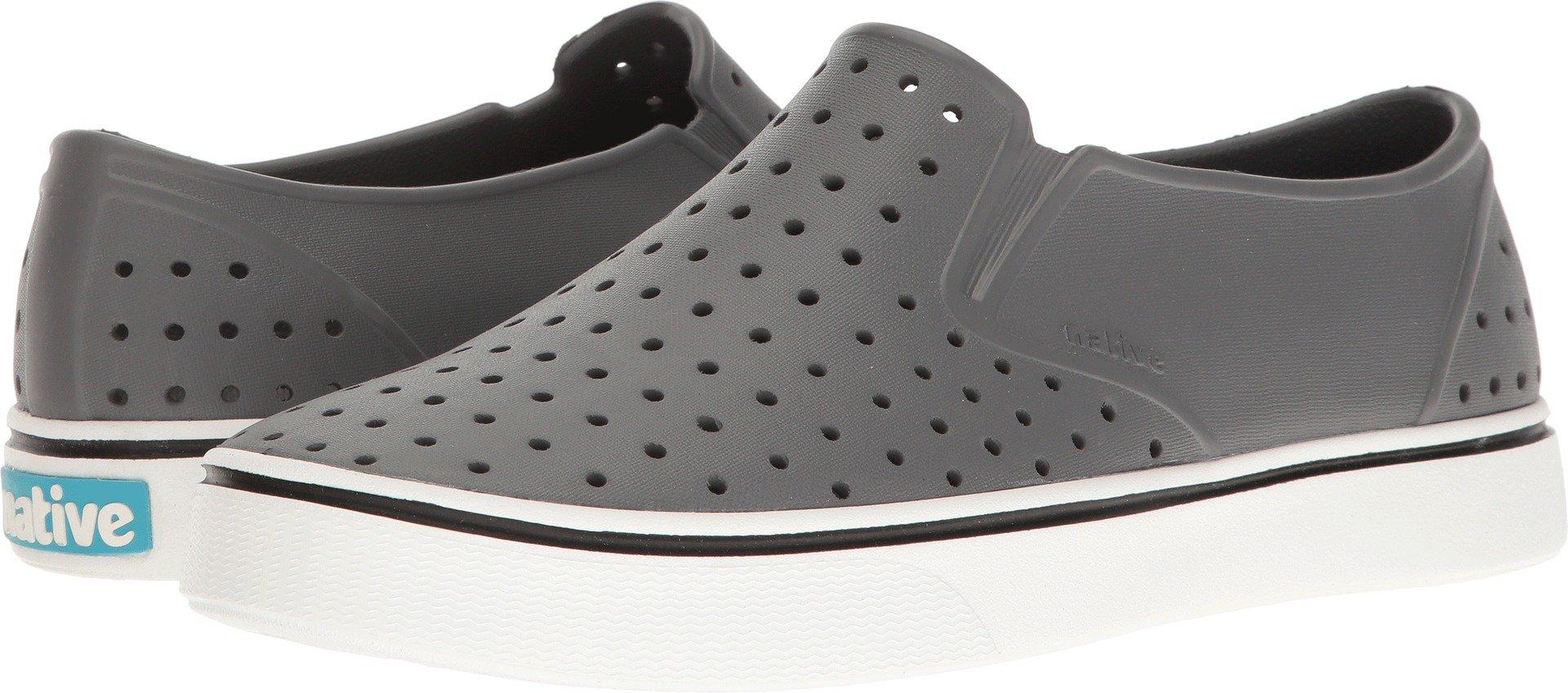 Native Shoes Miles Water Shoe, Dublin Grey/Shell White, 5 Men's (7 B US Women's) M US by Native Shoes
