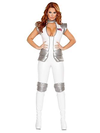 0633c76d315 Amazon.com: Astronaut Commander Costume, Sexy Astronaut Costume: Clothing