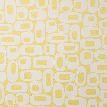 Os Lemon Lime Mid Century Wallpaper For Walls