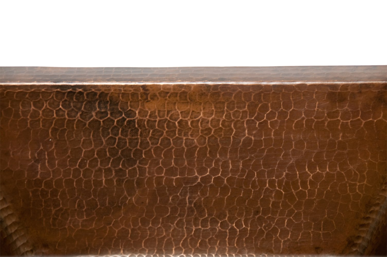 Premier Copper Products BRECDB2 Universal Rectangle Copper Bar Sink with 2-Inch Drain Size, Oil Rubbed Bronze by Premier Copper Products (Image #3)