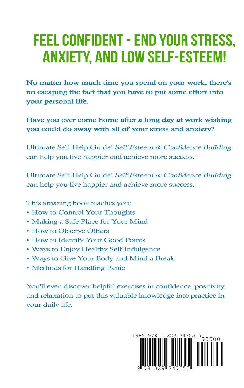 Workbooks self esteem workbook : Self Esteem: Confidence Building: Overcome Fear, Stress and ...